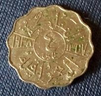 IRAQ - 4 Fils - Km 105 - 1938 - King Ghazy - Agouz - Iraq