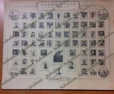 GAVARDO - Classe Del 1924 - Diimensioni 30x24 Cm Stampata Nel 1964 Guerra Mondiale Sergio Bresciani - D282 - Lugares
