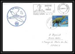 France 611 (bateau Ship) Fs Nivose 25/9/2000 Lettre Navale Naval Cover Schiffspost - Naval Post