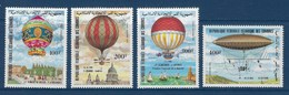 "Comores Aerien YT 193 à 196 (PA) "" 1eres Ascensions "" 1983 Neuf** - Isole Comore (1975-...)"