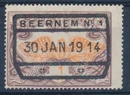 """TR 41 - Cachet  """"BEERNEM Nr 1"""" - (ref. 29.995) - 1895-1913"""