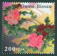 GUINEE BISSAU Fleur,Pivoine 1v Neuf ** MNH - Guinée-Bissau