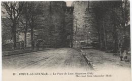Coucy-le-Château   Porte De Laon ( Décembre 1916 ) - Ed ND 23 - Ref PKF23 - France