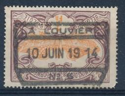 """TR 41 - Cachet  """"LA LOUVIÈRE Nr 5"""" - Ronde Hoek/coin Arrondi - (ref. 29.997) - 1895-1913"""