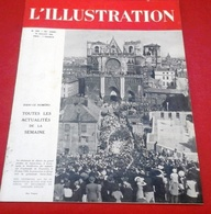 WW2 L'Illustration N°5235 Juillet 1943 Pardon Saint Jean Lyon,Charlotte Corday,Marly Le Roi,Service Civique Rural - Journaux - Quotidiens