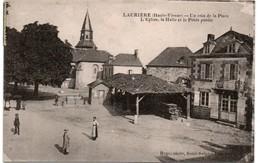 Laurière 1924 - Un Coin De La Place - édit. Rogé - Lauriere