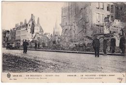 YPRES (1917) - Rue Du Marché Au Beurre - Ieper