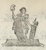 """Héraldique Porrentruy An 4 - 4.5.1796 Le Commissaire Du Pouvoir """"Billet De Chargement"""" - Documents Historiques"""