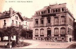 PYRÉNÉES ATLANTIQUES - BIARRITZ - Hotel Pavillon Moderne. - Biarritz