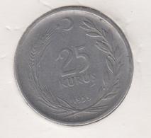 @Y@  Turkije   25  Kurus  1959    (item 4779) - Turquie