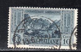 Rox 1932 Regno D'Italia Garibaldi 10c  Usato - 1900-44 Victor Emmanuel III