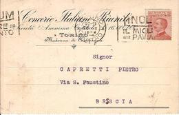 (St.Post.).Regno.V.E.III.Varietà Non Comune.Annullo Meccanico Fortemente Spostato (108-a16) - 1900-44 Victor Emmanuel III.