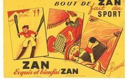Buvard Bout De ZAN Fait Du Sport - Cake & Candy