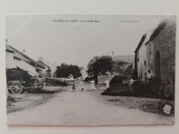 Villers Sur Port La Grande Rue Haute Saône Franche Comté - France