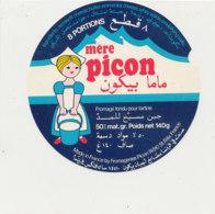 W 475 / ETIQUETTE  FROMAGE - MERE PICON  8 PORTIONS  FROMAGERIE PICON 74- ST FELIX - Käse