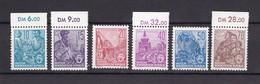 DDR - 1955 - Michel Nr. 453/458 - Postfrisch - 40 Euro - Ungebraucht