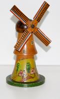 Tirelire En Bois -02-moulin Hollandais - Sonstige