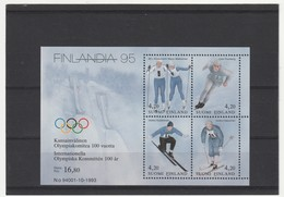 FINLANDE - BLOC N°11 ** (1994) C.I.O Et Finlandia 95 - Blocks & Kleinbögen