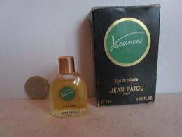 PATOU Jean - VACANCES - EDT - 6 ML  - Miniature - Miniatures Femmes (avec Boite)