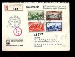 1944 To Heijkoop Duizendschoonstraat 1 Rotterdam (780) - Storia Postale