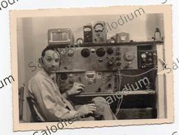 RADIO Radioamatore Radioamateur - Radio Amatore QSL - Short Wave  - Foto Fotografia - Mestieri