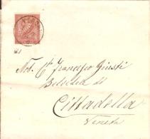 (St.Post.).Regno.V.E.II.1874.-2c Su Fascetta Per Giornali (33-19) - 1861-78 Victor Emmanuel II.