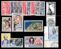 TAAF Belle Petite Collection Neufs Et Oblitérés 1955/1976. Bonnes Valeurs. TB. A Saisir! - Collections, Lots & Séries