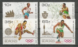 Burundi - COB 932/35 Série Complète - MNH / ** 1985 COB: 30,00€ Olympics Jeux Olympiques Los Angeles 1984 - 1980-89: Neufs