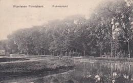 477033Purmerend, Plantsoen Rondebank. (rechtsonder Een Heel Klein Vouwtje) - Purmerend