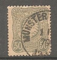 DR - Yv. N° 35A MI. N° 38  (o)  50p Bronze  Pfennige  Cote  17 Euro  BE  R  2 Scans - Usados