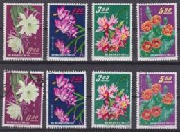 "TAIWAN 1964, ""Taiwan Cacti"", Serie Unmounted Mint + Cancelled - 1945-... Republik China"