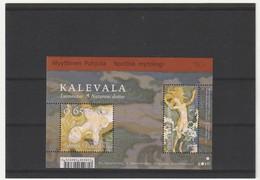 FINLANDE - BLOC N°33 ** (2004) Mythologie Nordique - Blocchi E Foglietti