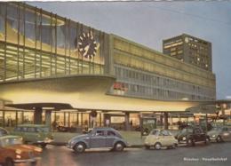 Munchen - Bahnhof , VW Volkswagen Kafer Bug , BMW Isetta - Muenchen