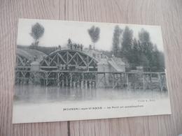 CPA 86 Vienne Moussac Sur Vienne Le Pont En Construction - Frankrijk
