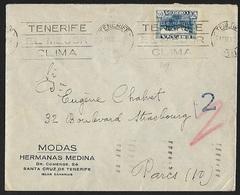1936 - ESPANA - Cover + Michel 760 - Y&T 573 [Granada] + TENERIFE & PARIS X - 1931-Aujourd'hui: II. République - ....Juan Carlos I