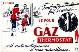 Buvard Four à Gaz à Thermostat. - F