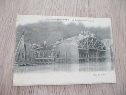 CPA 86 Vienne Moussac Sur Vienne Le Pont En Construction - Francia