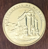 98 MONACO CATHÉDRALE NOTRE-DAME MÉDAILLE TOURISTIQUE ARTHUS BERTRAND 2019 JETON TOURISTIQUE MEDALS TOKENS COINS - 2019