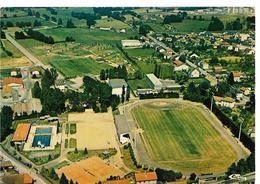 BELLAC (87) Vue Aérienne  :Stade, Piscine Et Camping  Cim 87.011, Cpm - Bellac