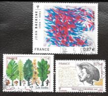 TIMBRE   FRANCAIS..OBLITERATION  RONDE...2011...N°4536/4537/4551.  VOIR SCAN - France