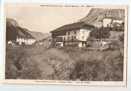 74 Haute Savoie - Montmin Chalet Restaurant Du Chardon Bleu Col De L'hault - France
