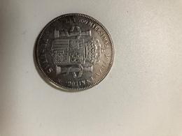 Piece De 5 Pesetas Amadeo 1er  De 1871 - Azores