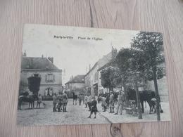 CPA 95 Val D'Oise Marly La Ville Place De L'église - Marly La Ville