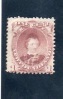 TERRE-NUEVE 1866-71 * - Newfoundland