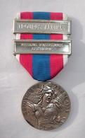 Médaille République Française Armée Nation Défense Nationale - Avec Barrettes Troupe Alpine - Mission D'Assistance Extér - France
