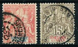 Senegambia Y Níger Nº 5/6 Usado Cat.23€ - Used Stamps
