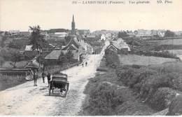 29 - LANDIVISIAU : Vue Générale ( Attelage En 1er Plan Arrière ) - CPA - Finistère - Landivisiau