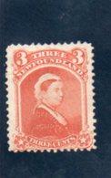TERRE-NUEVE 1868-73 SANS GOMME - Newfoundland