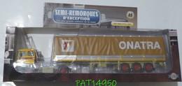SEMI-REMORQUES D' EXCEPTION CAMION DAF 2800 Transports ONATRA - LKW