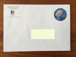 PRET A POSTER TSC Premier Ministre, Secrétariat Général Du Gouvernement - Timbre Demain L'Euro Non Oblitéré - Entiers Postaux